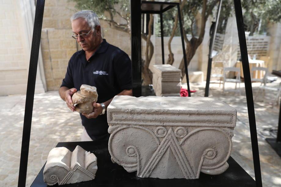 В Иерусалиме откопали фрагменты роскошного дворца VIII века до н. э..Вокруг Света. Украина