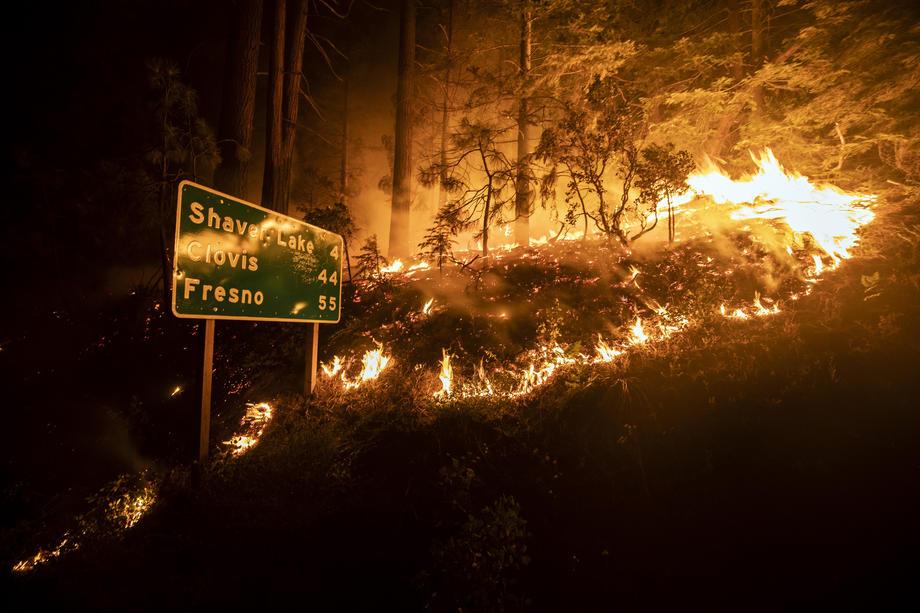 В Калифорнии пожар охватил рекордную территорию.Вокруг Света. Украина