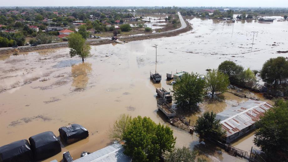 Ураган в Греции: три человека погибли, двое пропали.Вокруг Света. Украина