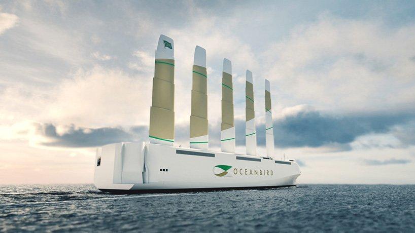 Шведы разработали инновационное парусное судно для трансатлантических перевозок