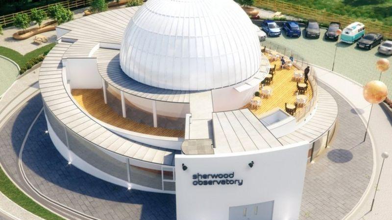 Обсерватория Шервуда построит планетарий в глубоком резервуаре XIX века.Вокруг Света. Украина