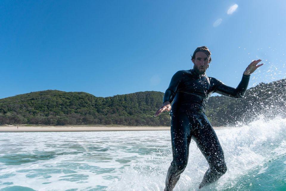 В Австралии дрон спас известного серфера от акулы.Вокруг Света. Украина