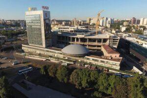 Киевская «летающая тарелка» стала памятником