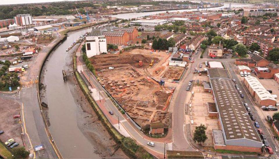 В Британии на раскопках порта найдено древнее массовое захоронение