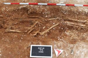 В Британии раскопали могилу рослого полководца VI века