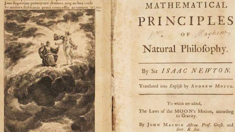 Редкое издание главной книги Исаака Ньютона ушло с молотка.Вокруг Света. Украина