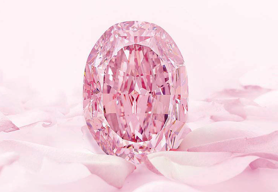 Редчайший розовый бриллиант выставят на аукцион за $38 млн.Вокруг Света. Украина