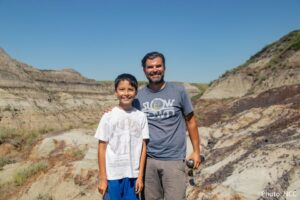 12-летний канадец обнаружил кости редкого динозавра