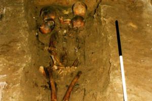 Анализ ДНК пролил свет на захоронение «шестиглавого вождя»