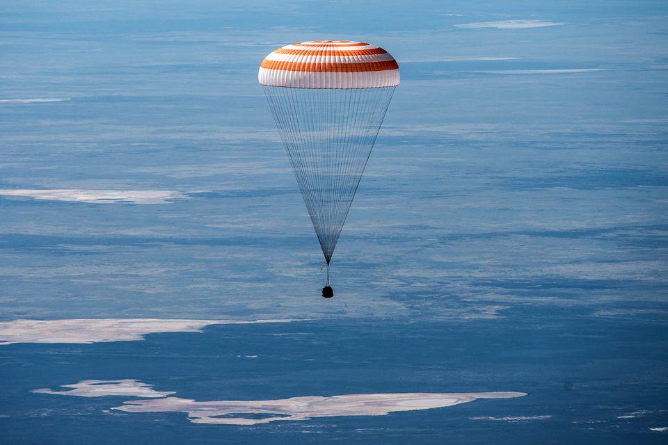 63-й экипаж МКС вернулся на Землю.Вокруг Света. Украина