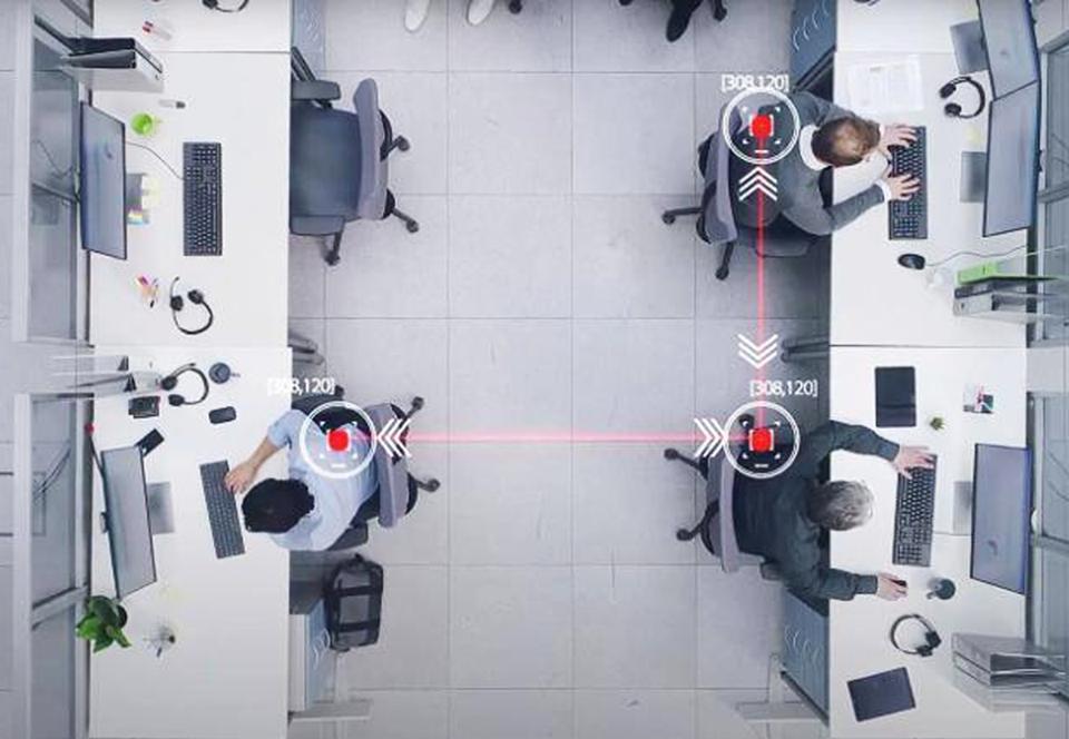 В Израиле умные датчики следят за дистанцированием в офисах