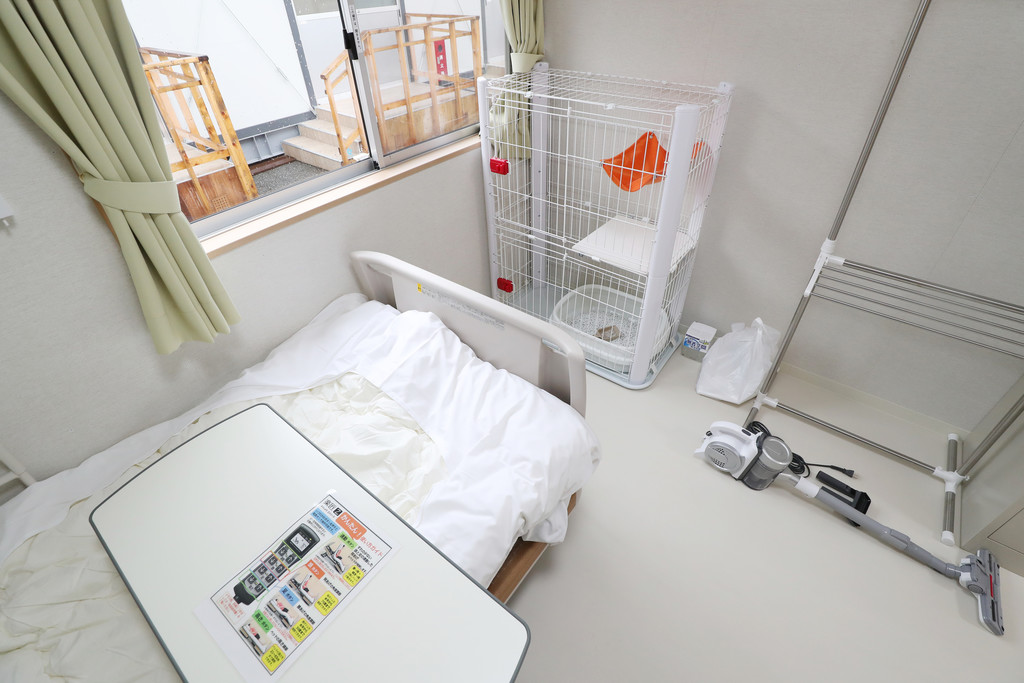 В Токио открыли госпиталь для пациентов с СOVID-19, где можно взять в палату домашнего питомца.Вокруг Света. Украина