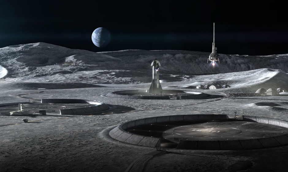 Архитектурная студия BIG спроектировала здания, которые могут появиться на Луне