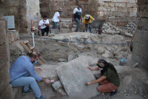 В Турции нашли ворота 900-летнего дворца Харран