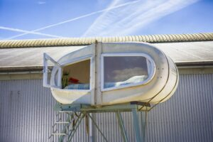 Зернохранилище вместо палатки: в Нидерландах открылся необычный кемпинг