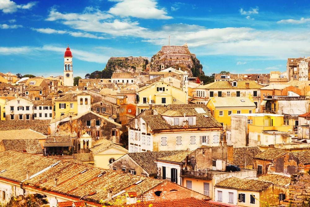 Корфу отдых в Греции
