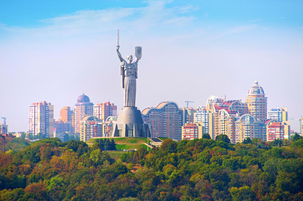 В Киеве небоскребов больше, чем в других городах Европы.Вокруг Света. Украина