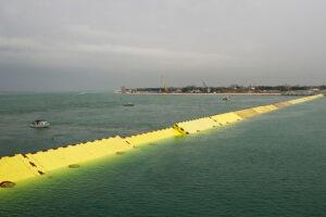 Система шлюзов спасла Венецию от сезонного наводнения