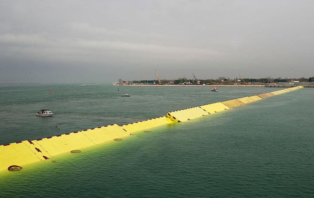 Система шлюзов спасла Венецию от сезонного наводнения.Вокруг Света. Украина