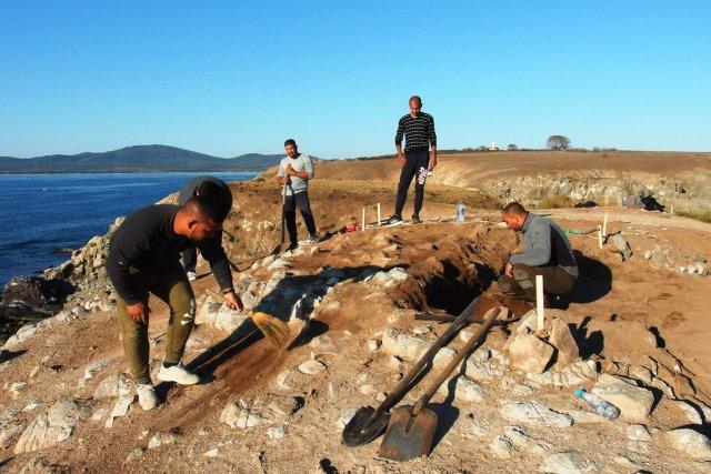 На крошечном острове в Черном море нашли древнегреческий храм