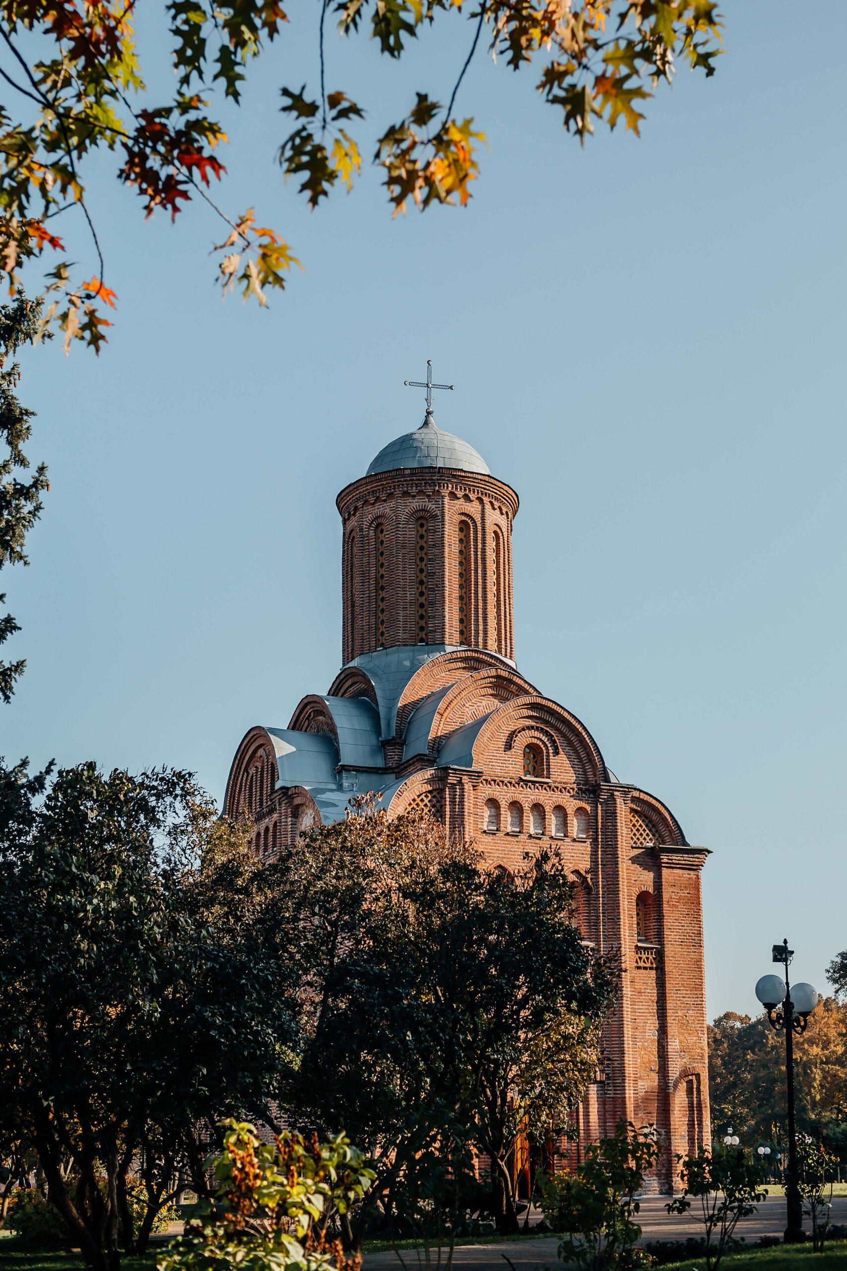 Чернигов фото Пятницкая церковь
