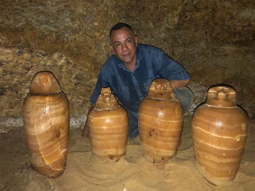 В Египте нашли гробницу казначея фараонов