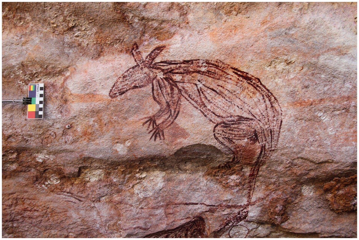 В Австралии обнаружили наскальные рисунки в неизвестном доныне стиле.Вокруг Света. Украина