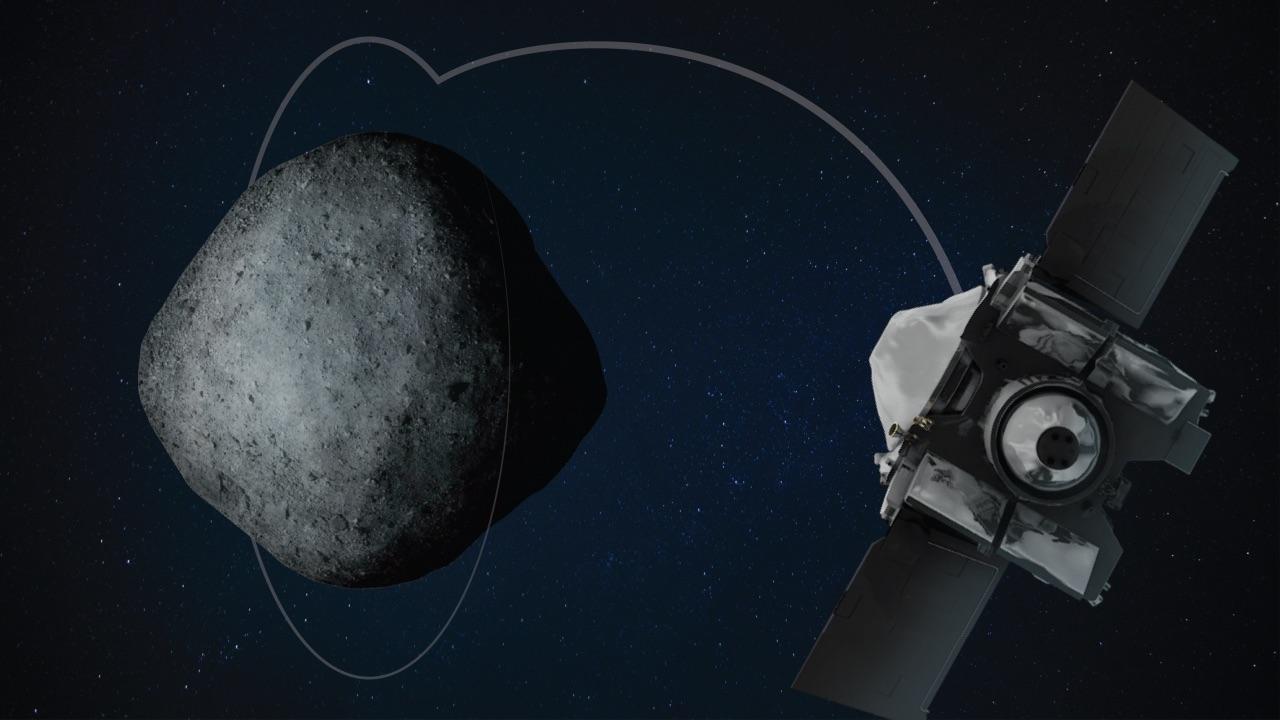 Космический корабль NASA взял образцы с астероида Бенну.Вокруг Света. Украина