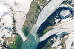 Тающий ледник на Аляске вызовет гигантское цунами