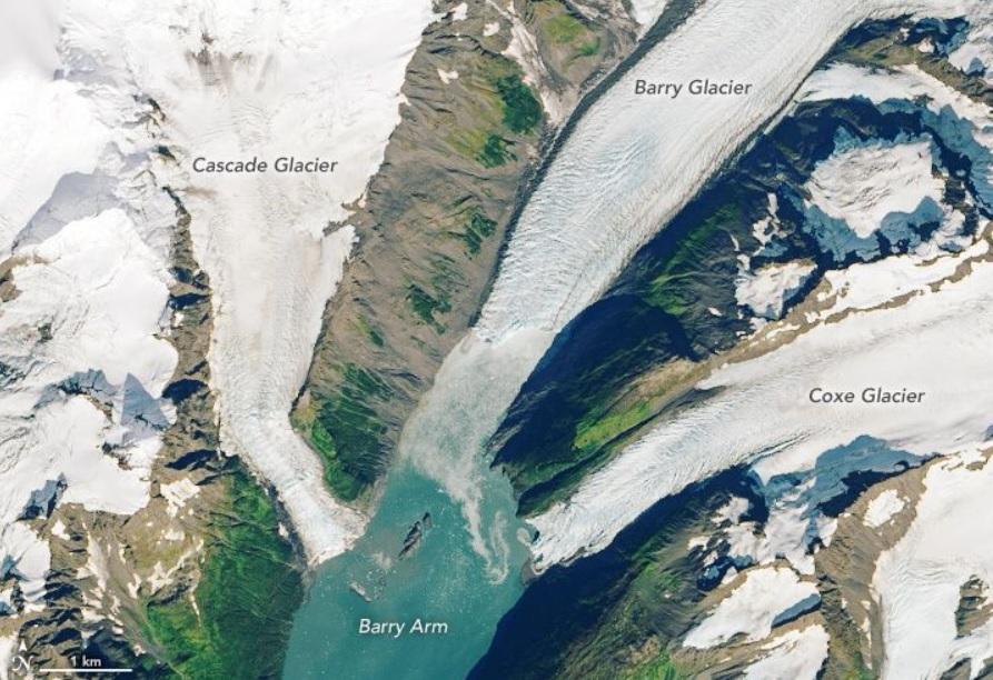 Тающий ледник на Аляске вызовет гигантское цунами.Вокруг Света. Украина