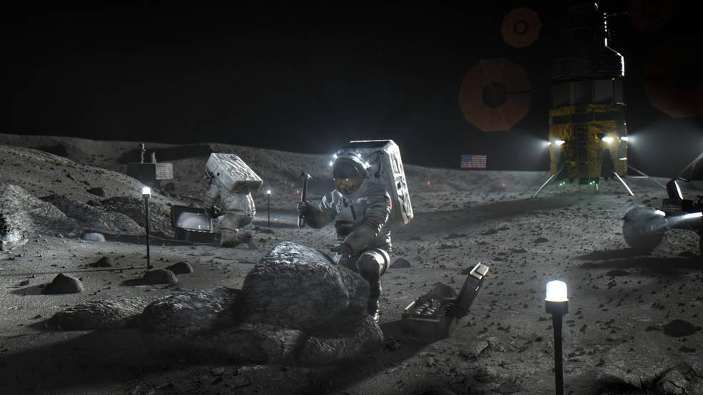 NASA развернет на Луне сеть 4G.Вокруг Света. Украина