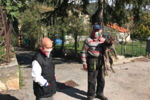 В итальянской деревне всего два жителя, и оба на карантине