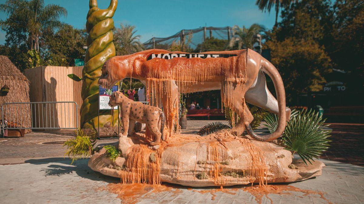 Во Флориде установили тающие скульптуры.Вокруг Света. Украина