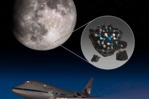 На солнечной стороне Луны впервые нашли воду