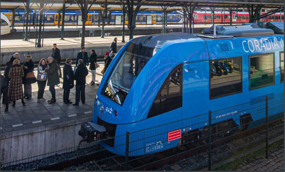 В Нидерландах запустили водородные поезда.Вокруг Света. Украина