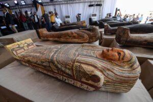 В Египете открылась выставка саркофагов