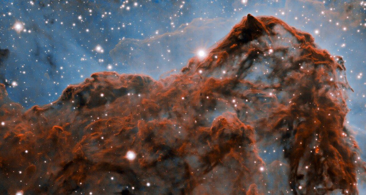 Астрономы получили самое детальное изображение туманности Киля.Вокруг Света. Украина