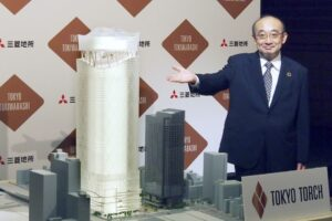 В Токио построят небоскреб в форме олимпийского факела