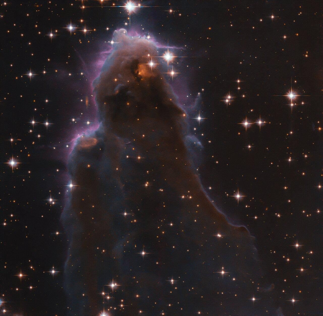 Телескоп Хаббл запечатлел звездные «ясли» на захватывающем снимке