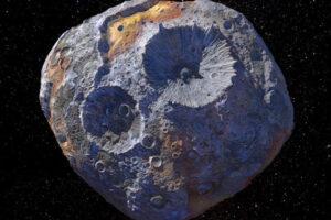 NASA оценило астероид Психея в 10 квинтиллионов долларов
