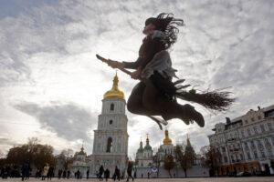 Семь фото-зон в Киеве на Хэллоуин