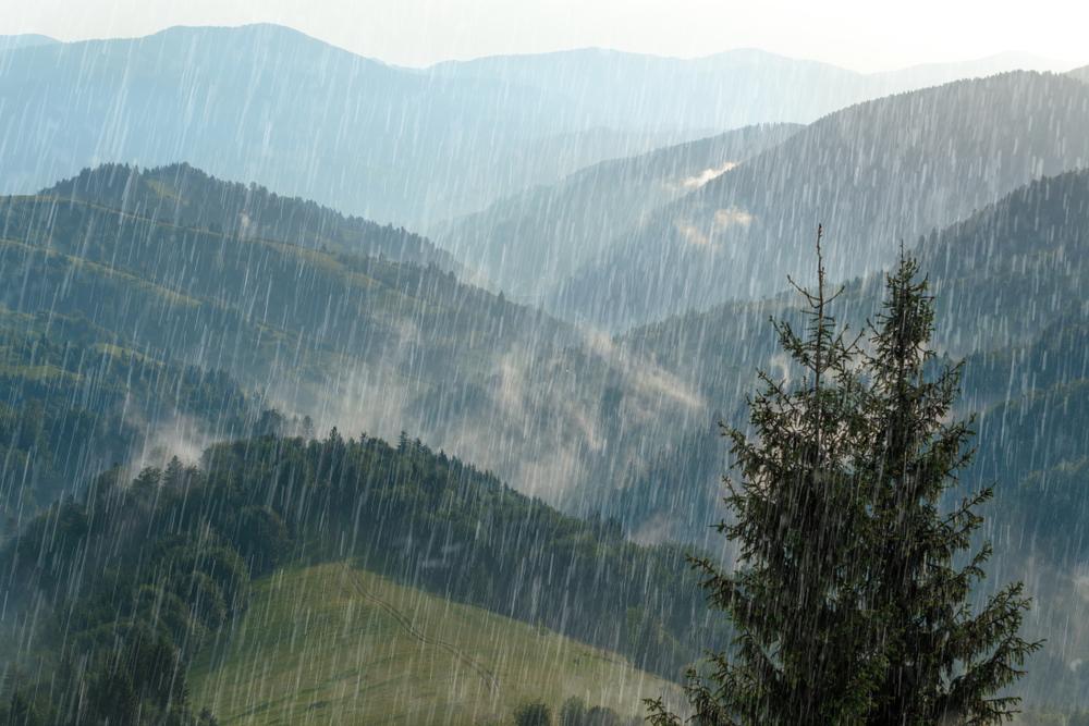 Дождь может сдвигать горы — исследование.Вокруг Света. Украина