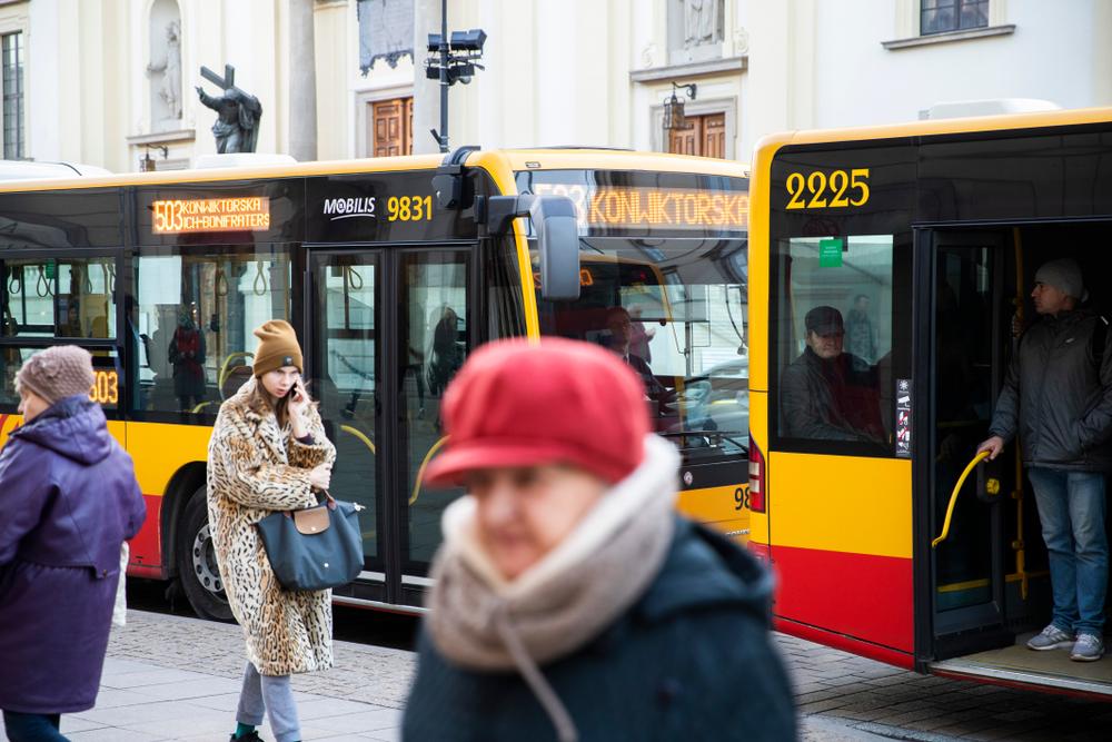 В автобусах Варшавы начали показывать ролики об Украине.Вокруг Света. Украина
