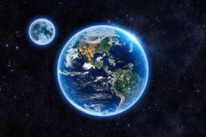 Атмосфера Земли сохранилась благодаря Луне