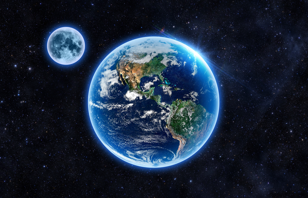 Атмосфера Земли сохранилась благодаря Луне.Вокруг Света. Украина