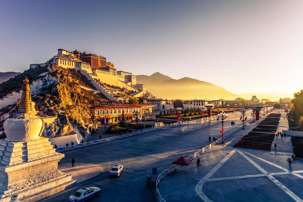 Достопримечательности Тибета можно посетить бесплатно с октября по декабрь