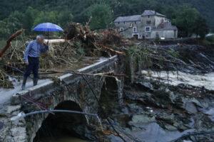По Франции и Италии прокатился шторм: есть жертвы
