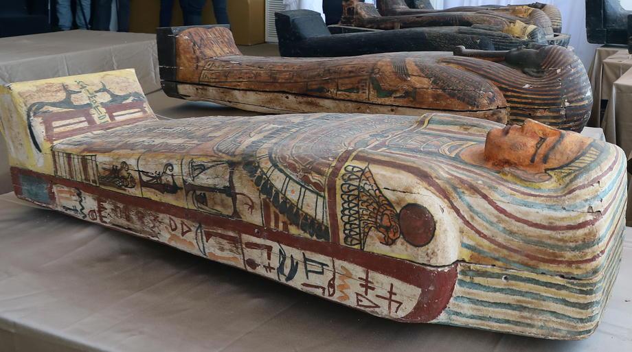 В Египте нашли 80 нетронутых саркофагов