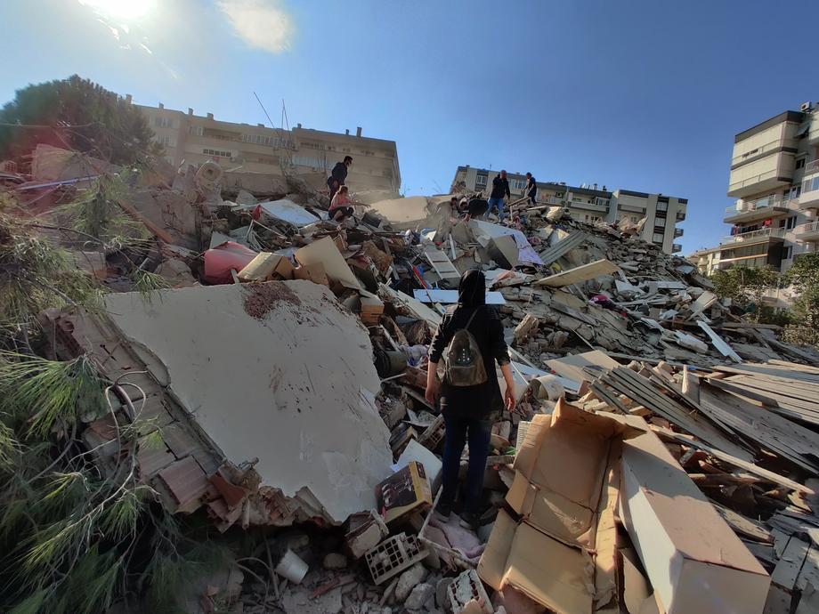 В Греции и Турции произошло сильнейшее землетрясение.Вокруг Света. Украина
