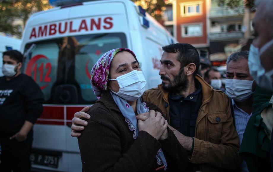 Землетрясение в Греции и Турции: погибли 8 человек